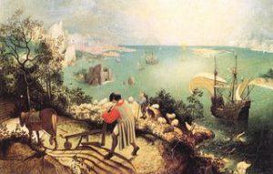 'Paisatge amb la caiguda d'Ícar' de Pieter Brueghel